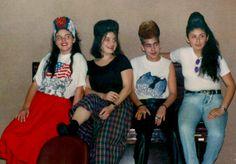Finalistas femininas  do campeonato de topetes - 1991