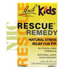 Hey, kids get stressed, too! Homeopathy works! It's natural, safe, and non-drowsy! Try Bach Kids Rescue Remedy!