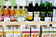 Beer, wine and juice for dogs, at Aeon Mall Makuhari, Pet Mall