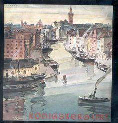 1936 Königsberg Ostpreußen Reiseprospekt bebildert, Kaliningrad