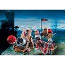 PLAYMOBIL Hawk Knights Battle Cannon (6038) 6038 Blast through castle walls with the Hawk Knights™ Battle Cannon. Swivel and tilt the cannon to find the perfect aim. The cannon ball and supplies can be transported in the handcart. Set includes two a http://www.MightGet.com/january-2017-11/playmobil-hawk-knights-battle-cannon-6038-6038.asp