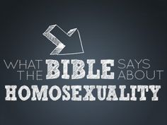 homosexuality in the bible - Google Search