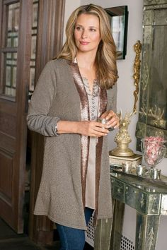 Our Crystal Cardi is embellished with spectacular bead work and a classic, clean silhouette.