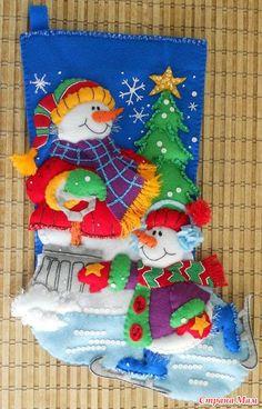 Новогодние сапожки для подарков. Обсуждение на LiveInternet - Российский Сервис Онлайн-Дневников