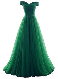 Tulle Off Shoulder Floor Length Party Dress Long Prom Dress, Prom Dresses 2019 Tüll off Shoulder bodenlangen Partykleid langes Abendkleid, Pro – BeMyBridesmaid Grad Dresses, Ball Dresses, Homecoming Dresses, Ball Gowns, Dress Prom, Prom Gowns, Bridesmaid Dress, Pretty Dresses, Sexy Dresses