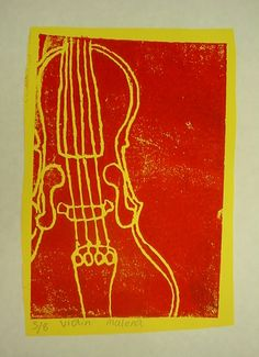 Mrs. Knight's Smartest Artists: 4th grade:musical instrument prints
