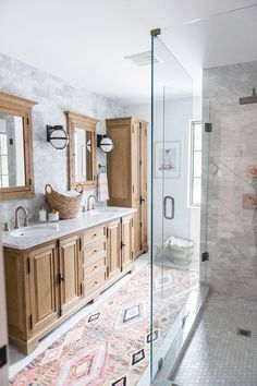 Two Gorgeous Bathroom Remodels You Need To See