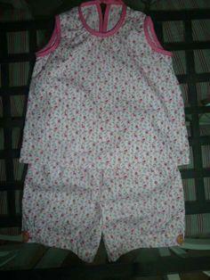 Pyjama tissu papa pique et maman coud