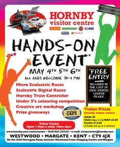 Hornby Visitor Centre Event If you are looking for something fun and exciting to do over the bank holiday weekend come along and get involved in all the activities going on.