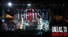 The Used on tour March 2014
