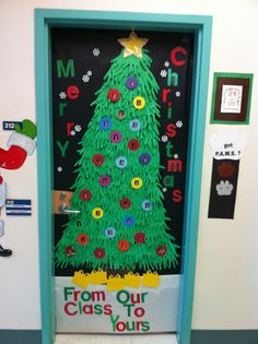Great Holiday Door Ideas! :)