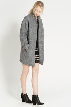 The sweetest of cocoon coats.