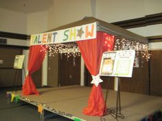 8 Best Talent Show Decorations Images Church Carnival Games