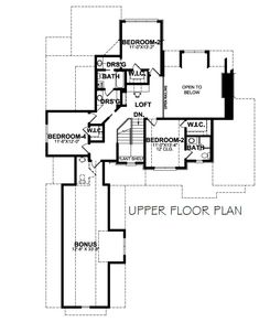 Darcie – Stephen Davis Home Designs Two Story House Plans, European House Plans, Two Story Homes, Open Concept Floor Plans, Plant Shelves, Fireplace Wall, My House, New Homes, House Design