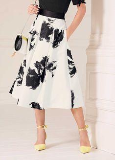 Printed Prom Skirt