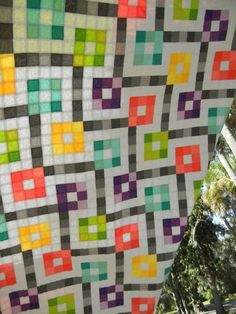 Fabricland Quilt Pattern-reminds me of a crossword puzzle