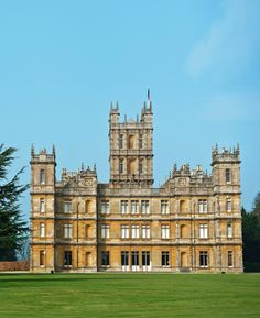 Highclere Castle, the set of Downton Abbey photographed by James Merrell, Town & Country February 2012