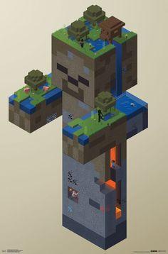 Mobs Minecraft, Craft Minecraft, Minecraft Posters, Minecraft Statues, Minecraft Room, Minecraft Construction, Minecraft Tutorial, Minecraft Blueprints, Mojang Minecraft