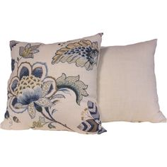 Portobello Porcelain Throw Pillows (Set of 2) - Overstock™ Shopping - Great Deals on RLF HOME Throw Pillows