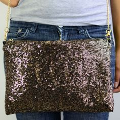 Sequined clutch  www.missibiss.com  | 1100 Lincoln Ave San Jose CA
