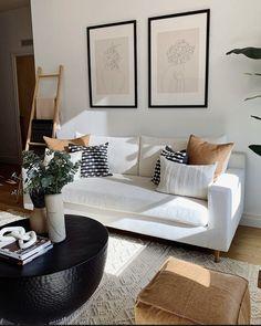 Boho Living Room, Home And Living, Living Room Decor, Bedroom Decor, One Bedroom Apartment, Apartment Interior, Apartment Living, First Apartment Decorating, Living Room Inspiration