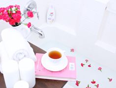 How to Make a Relaxing Spa Right in Your Own Bathroom   My Thirty Spot