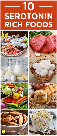 Serotonin is a very important hormone as it influences mood and sleeping patterns and also controls blood pressure levels. Serotonin is made up of an amino acid – Tryptophan. Serotonin deficiency can betreated with proper dietor with Serotonin supplements. Here is a list of top 10 serotonin rich and healthy foods. Check them out!  #HealthyFood Vitamin Rich Foods, Protein Rich Foods, Serotonin Foods, Healthy Mind, Healthy Eating, Happy Foods, Proper Diet, Brain Food, Food Facts