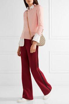 Pastel-pink cashmere Slips on 100% cashmere Specialist clean Designer color: Blossom Imported