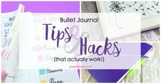I've tried most of the bullet journal hacks out there, and these are the ones that delivered! #bulletjournal #bujo #productivity #lifehack #domore