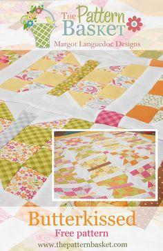 The Pattern Basket: Butterkissed Butterflies Free Pattern