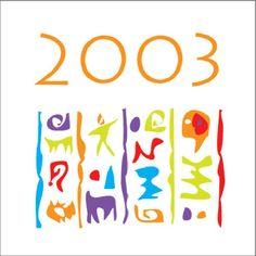 Cartes de voeux - modèle 2003 © COPY-TOP