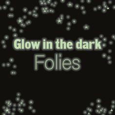 Highlight - Glow in the dark folies voor kleding en stickers! The Darkest, Highlights, Glow, Weather, Stickers, Luminizer, Hair Highlights, Sparkle, Weather Crafts