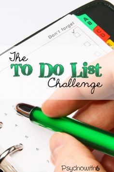 Week 3: The To-Do List Challenge. Overwhelmed by to-do's? Find solutions here.