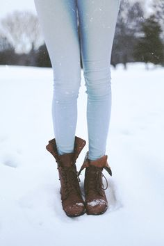 thermals and boots...Kiki Sloane