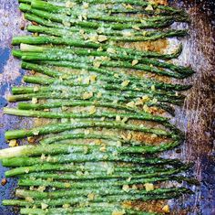 Bobbi's Kozy Kitchen: Roasted Asparagus with Garlic and Parmesan