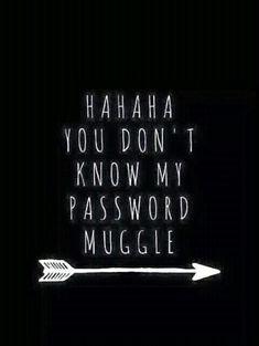 Ya thats dang right you don't muggle!