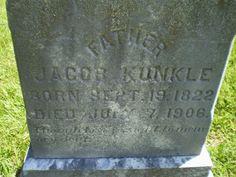 #GenealogicalGems: Tombstone Tuesday: Jacob Kunkle http://genealogybyjeanne.blogspot.com/2015/01/tombstone-tuesday-jacob-kunkle.html?spref=tw #genealogy @geneabloggers #genchat