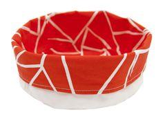 Triangle fabric basket