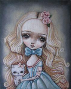Sophie by Lauren Saxton (Fair Rosamund Art).