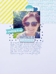 Layout by Alexa Gill using inspiration from the Simple Scrapper membership