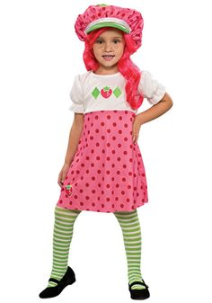 Toddler Strawberry Shortcake costume #Halloween #Girls Find it here: http://www.halloweencostumes.com/strawberry-shortcake-costumes.html