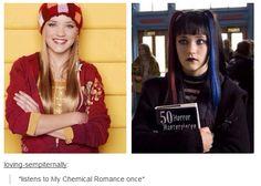 *listens to my chemical romance once*