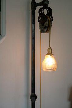 Custom Vintage Industrial Floor Lamp