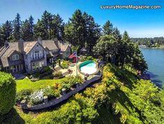 Exclusive Private Lakefront Estate, Lake Oswego OR