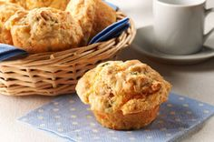 These muffins are great to enjoy as part of your breakfast. But they're also tasty when served with a bowl of soup or chili as part of a lunch or dinner.