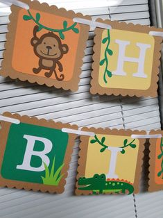 The Number Happy Birthday Meme Zoo Birthday, Happy Birthday Meme, Animal Birthday, Happy Birthday Banners, Cricut Banner, Jungle Party Decorations, Safari Party, Safari Theme, Party Banners
