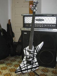 Custom Built Explorer Bass Guitar