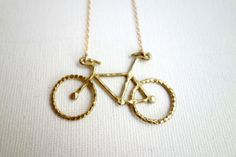Original Rachel Pfeffer Brass Bike by RachelPfefferDesigns on Etsy, $62.00