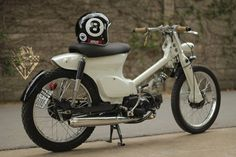 """honda cub"" custom build - Szukaj w Google"