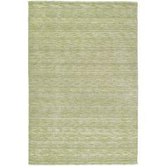 Gabbeh Hand-tufted Green Rug (9'6 x 13') | Overstock.com